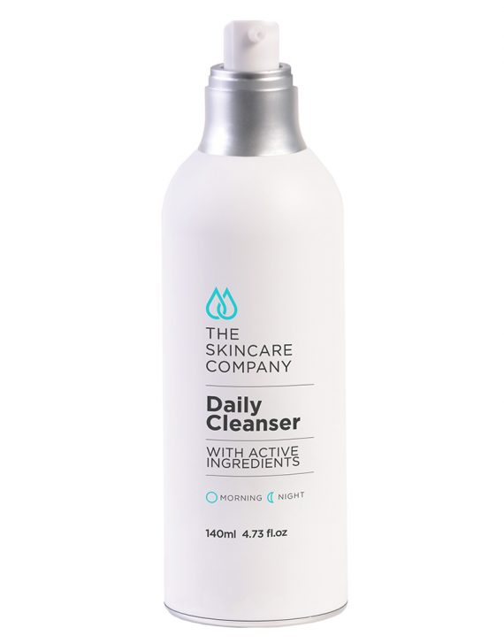 skincare company active daily cleanser