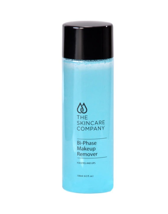 skincare company bi-phase makeup remover with hydration action